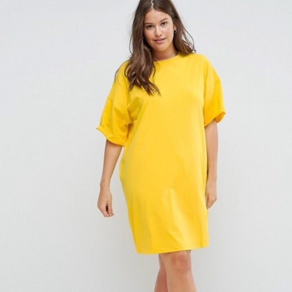 a9711c55ed2 NWT ASOS Curve T-Shirt Dress